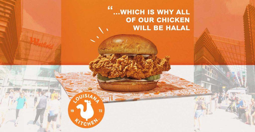 Popeyes UK Halal Chicken Restaurant Westfield Stratford London