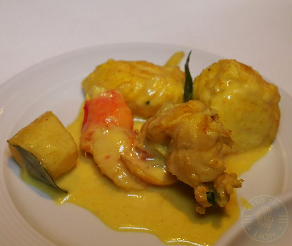 Seafood Quilon Restaurant Indian Fine Dining Michelin Star Curry Westminster London Buckingham Palace