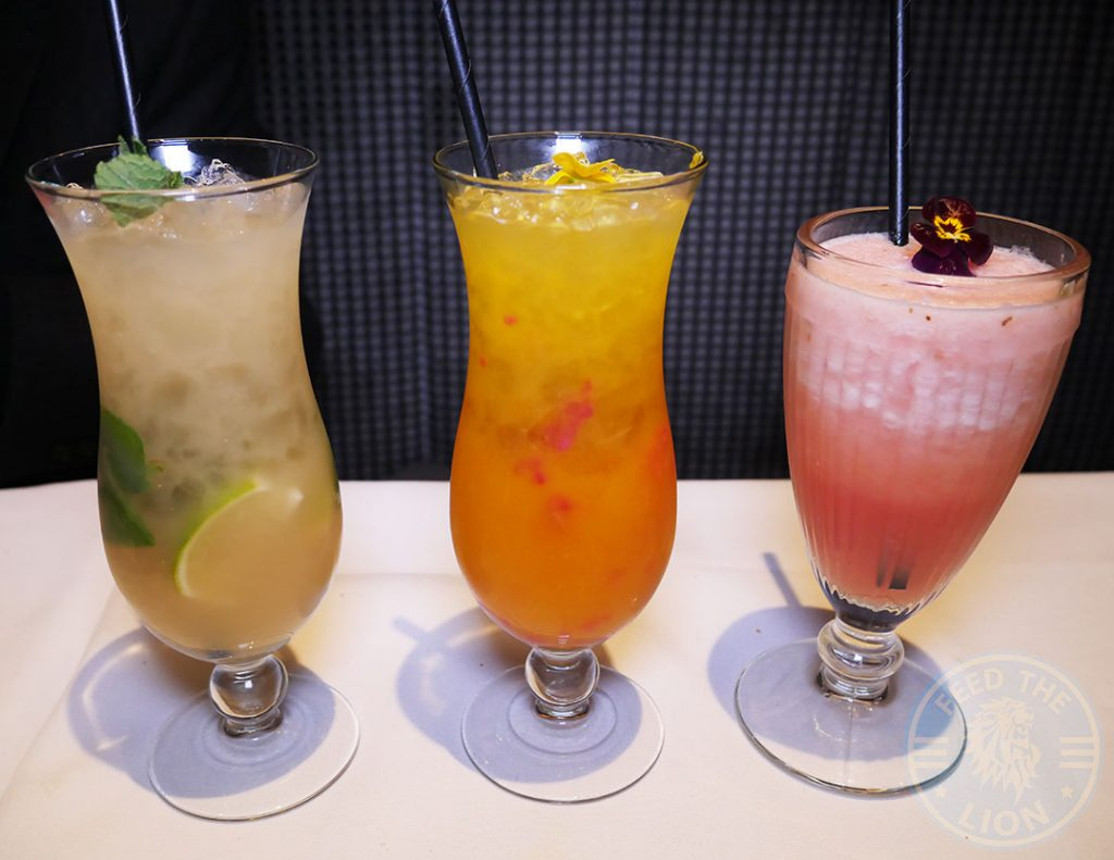 Drinks Beverages Cocktails Mocktails Quilon Restaurant Indian Fine Dining Michelin Star Curry Westminster London Buckingham Palace