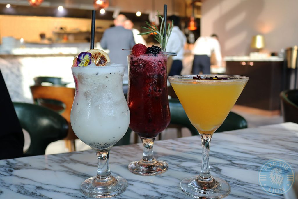 Drinks Beverage cocktails mocktails Ribeye Steakhouse Manchester Beef Steaks Burgers Wagyu