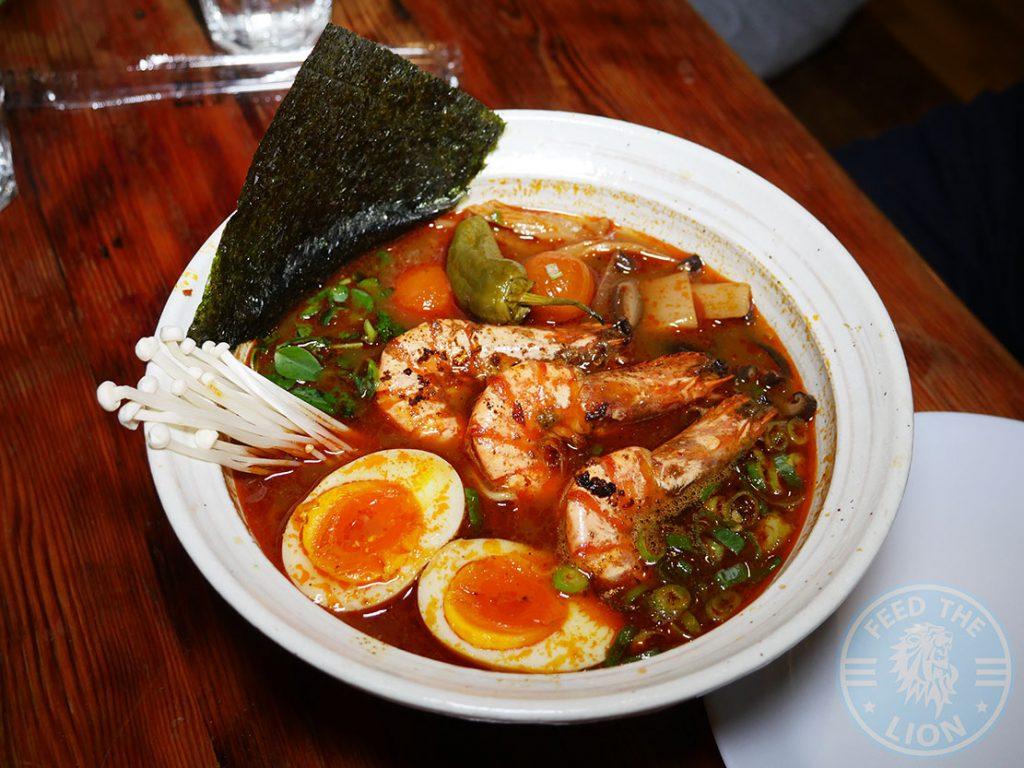 Ramo Raman Halal restaurant Filipino Japanese Camden London