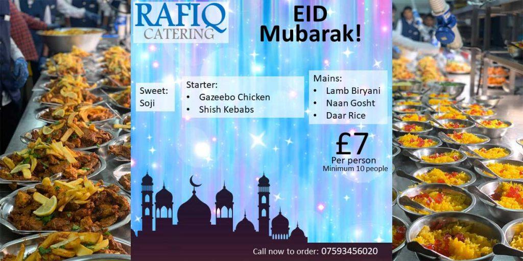 Rafiq Catering Eid