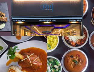Raj of Islington Indian Restaurant Halal Curry
