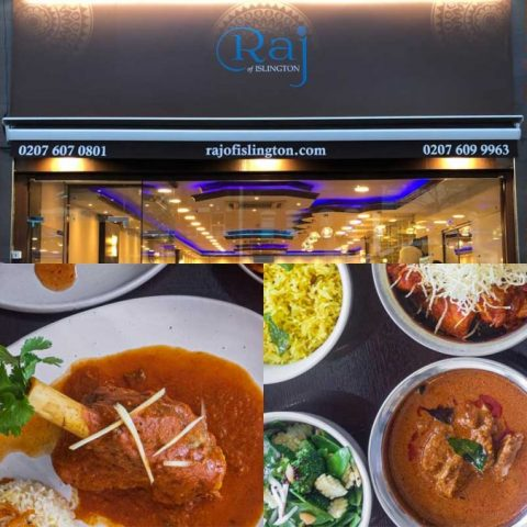 Raj of Islington Indian Restaurant Halal Curry