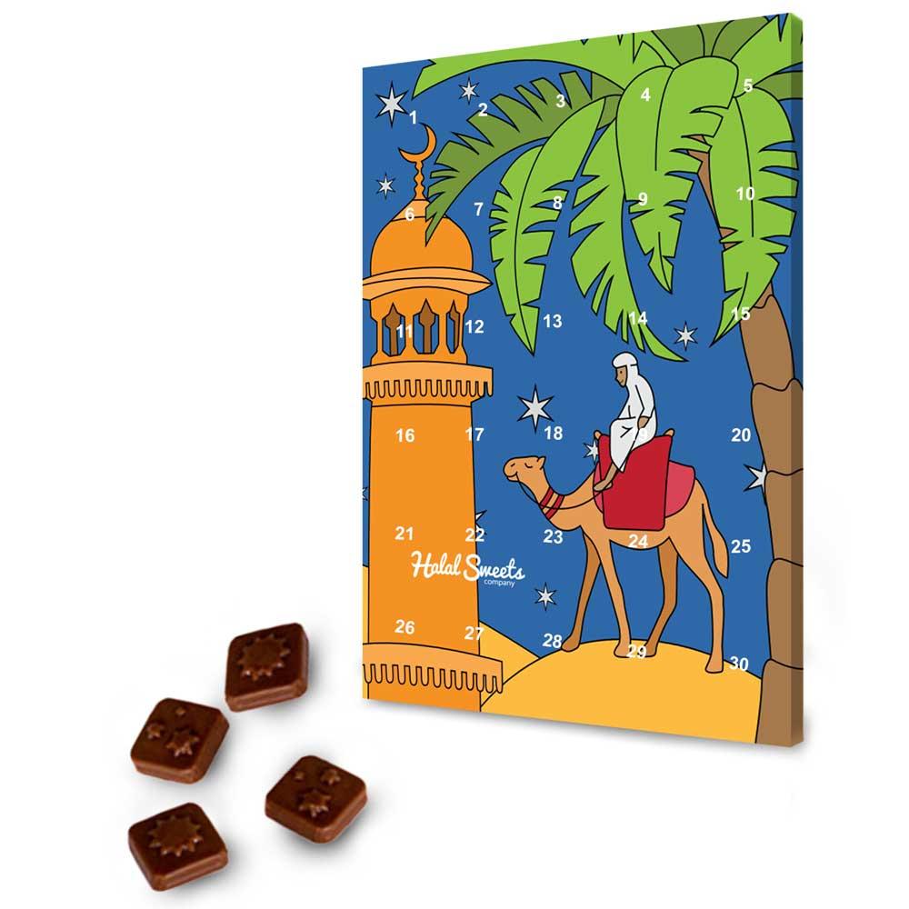 Halal Sweets Company Ramadan Chocolate Calendar