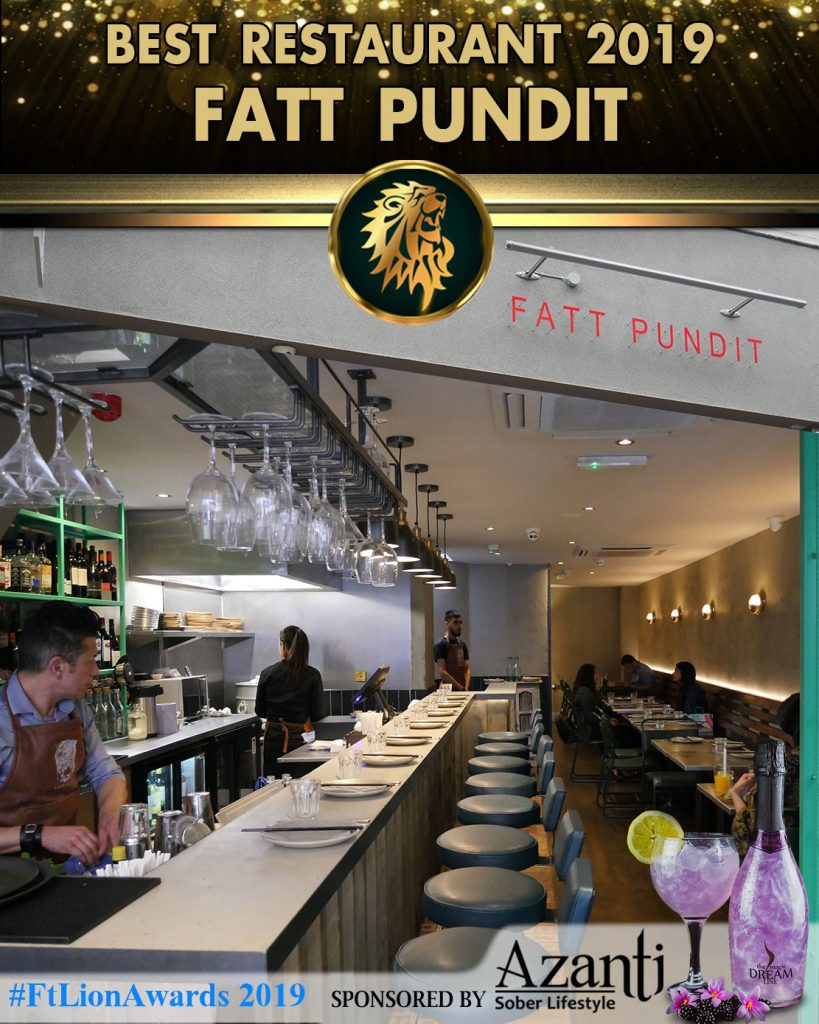 Winner Halal London Indian Restaurant Awards