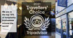 Rivaaz Lymington Tripadvisor Travellors' Choice Award 2021 Halal Restaurant