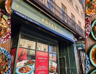 Rosa's Thai Cafe Halal Restaurant Greenwich London