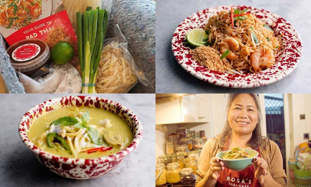 Rosa's Thai Cafe At Home meal Kit