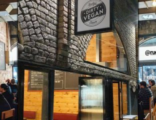 Rudy's Dirty Vegan Diner Camden Market London