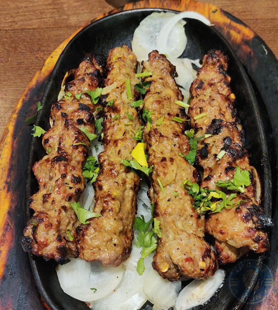 Spice Village Halal Southall restaurant Seekh'e Lahore