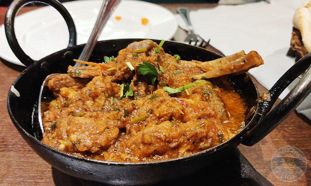 Spice Village Halal Southall restaurant Lamb Chops Karahi