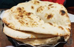 Spice Village Halal Southall restaurant Fresh Naan