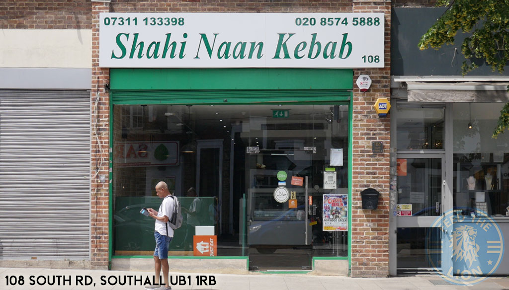 Shahi Naan Nan Kebab Kabab Pakistani Southall Halal restaurant