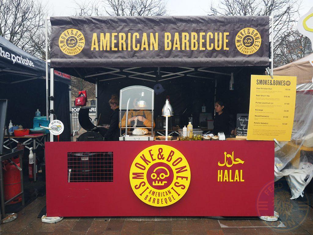 Smoke & Bones Halal Street Food Kerb London