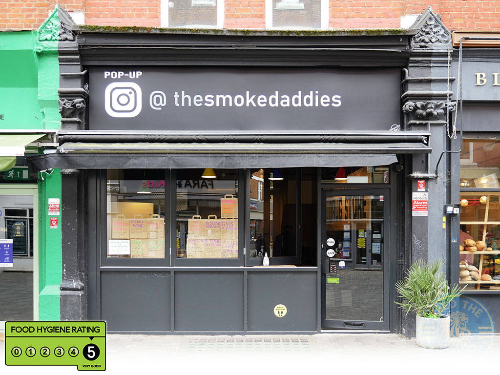 Smoke Daddies Halal American smokers restaurant Balham, London