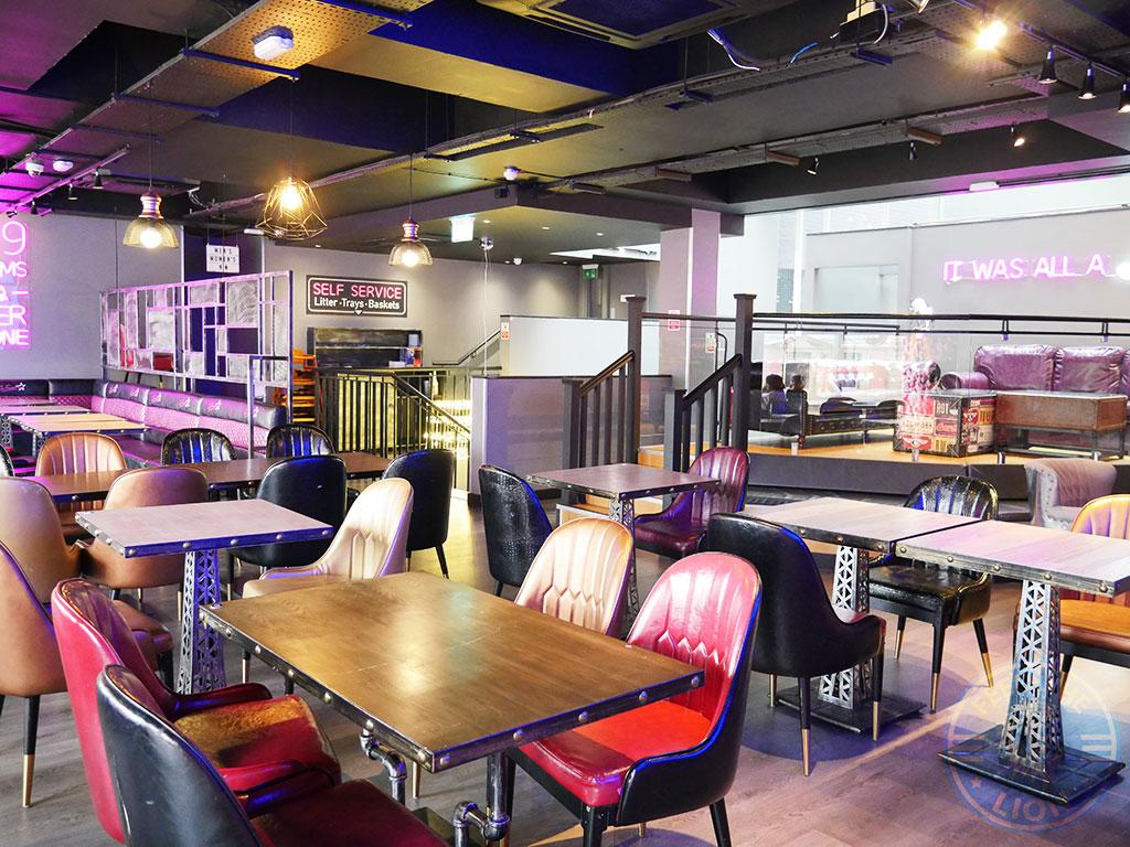 So Famous American Diner Halal Burger dessert restaurant Sheffield