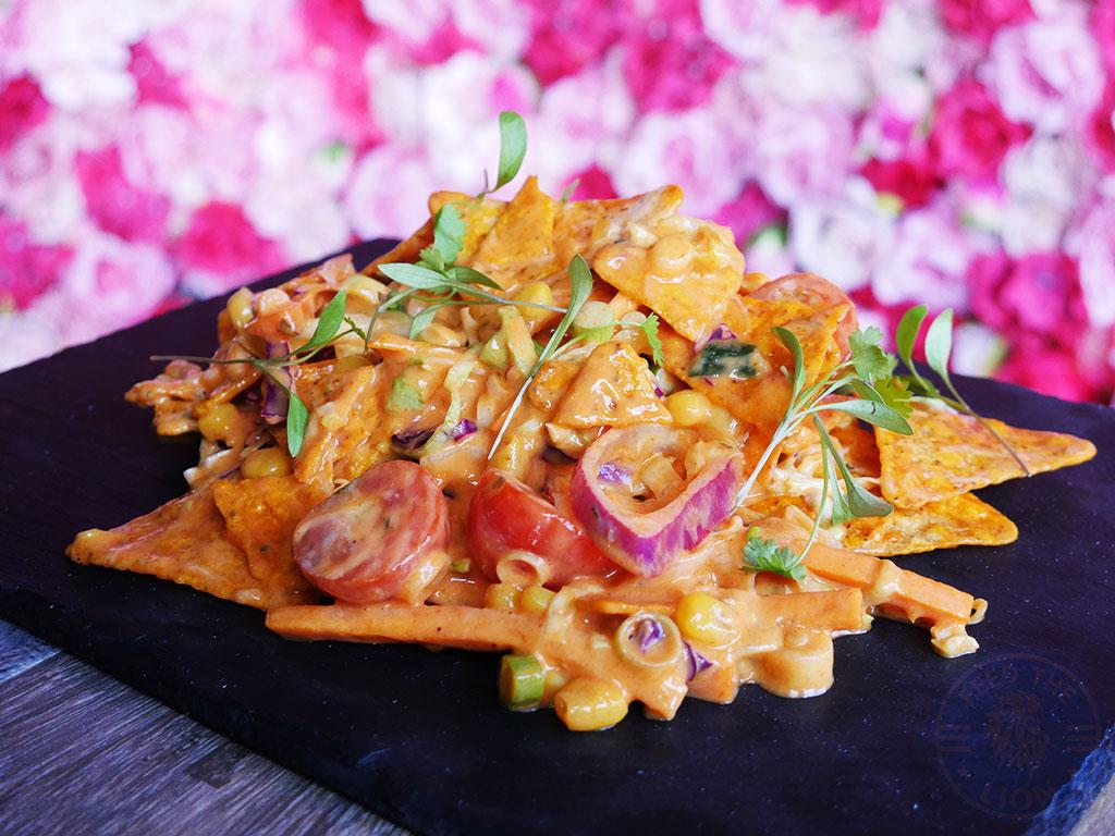 So Famous halal restaurant Sheffield Loaded nachos