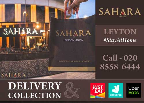 Sahara Grill Leyton London Delivery Collection
