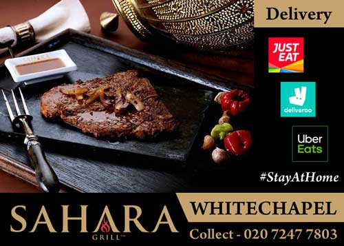 Sahara Grill Whitechapel London Delivery Collection