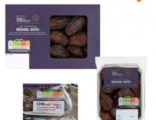 Sainsbury's Ramadan Medjool Dates Recall