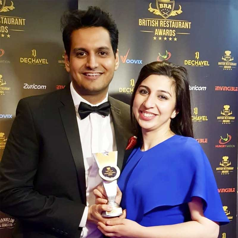 Saliha Mahmood Ahmed - Winner of the 'Best Chef' British Restaurant Awards 2019