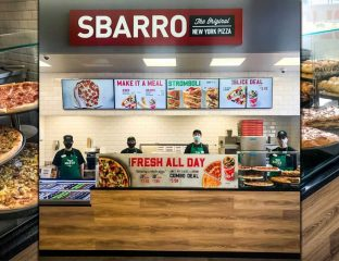 Sbarro Pizza Halal EG Group Birmingham