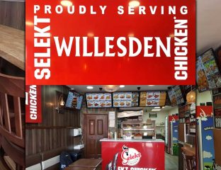 Selekt Chicken Halal restaurant fast food Willesden London