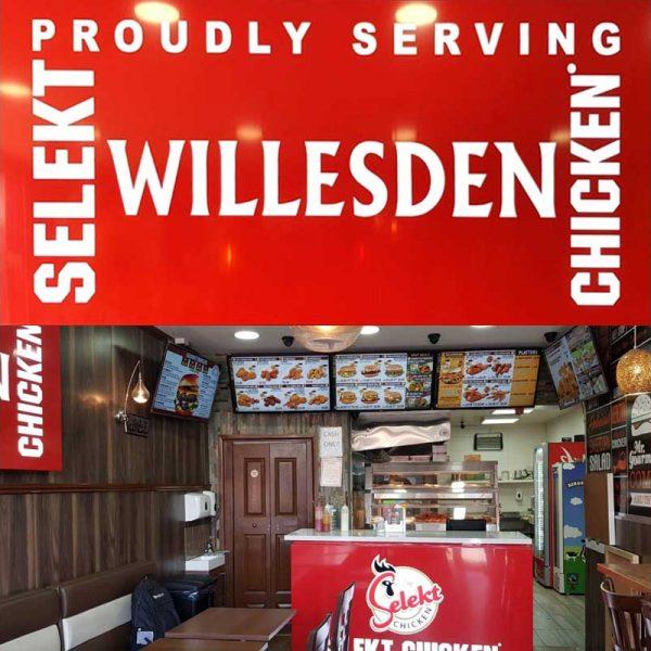 Selekt Chicken Halal restaurant fast food Willesden London