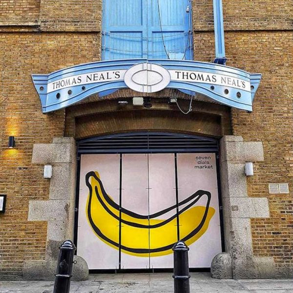 Halal Seven Dials Market Kerb London Covent Garden
