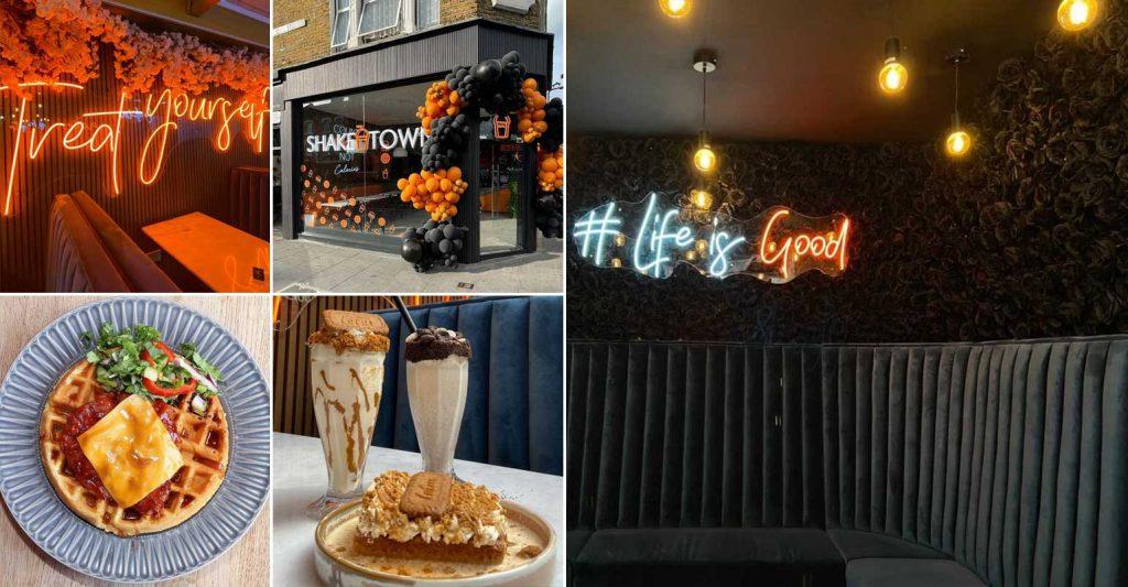 Shake Town Halal Restaurant Desserts Leyton London