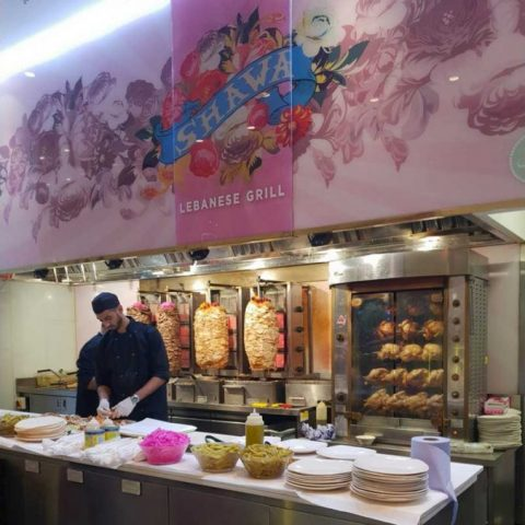 Shawa Lebanese Halal Restaurant Westfield London Shopping