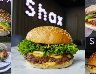 Shax Burger Smashed Dundee Scotland
