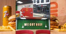 Slamburger Restaurant Halal Burger McDonald's Aylesbury Buckinghamshireaylesbury