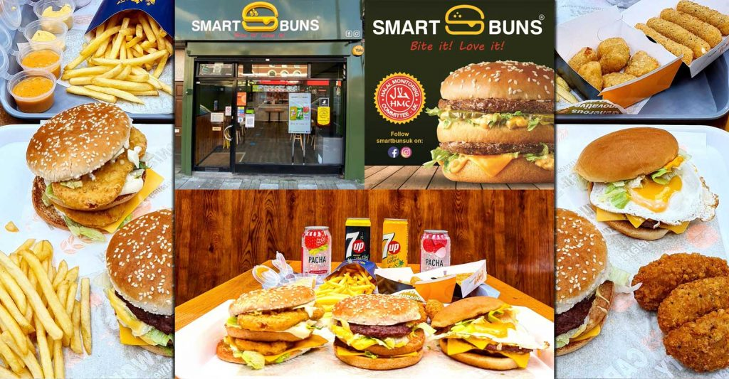 Smart Burgers Halal McDonald's London Wood Green