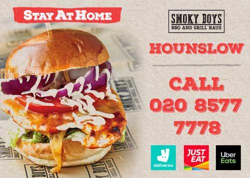 Smoky Boys Hounslow London Delivery Takeaway