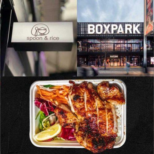 Spoon & Rice Wembley Boxpark London Halal