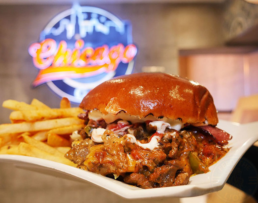 Chicago Grill burgers in Hammersmith & Shepherd's Bush Halal fast food restaurant London