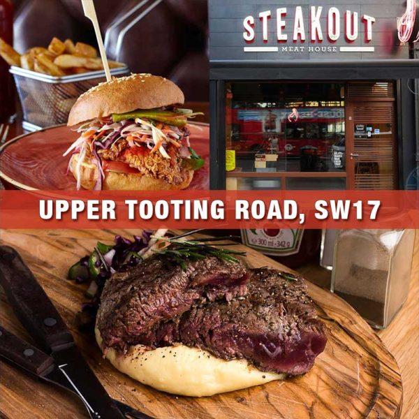 Steakout Upper Tooting Restaurants London