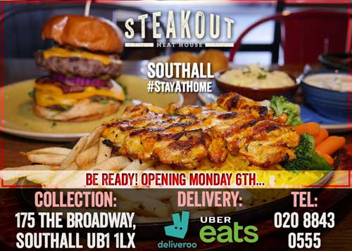 Steakout Southall London Delivery Takeaway