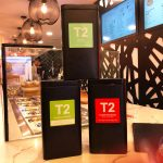 T2 tea The Knot Churros (Desserts) Kensington, London Halal Vegan