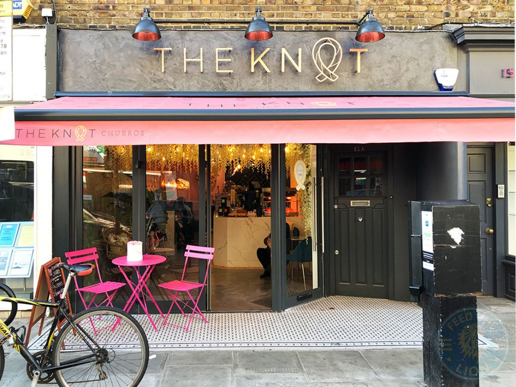 The Knot Churros (Desserts) Kensington, London Halal Vegan