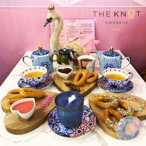 The Knot Churros (Desserts) Kensington, London Halal Vegan