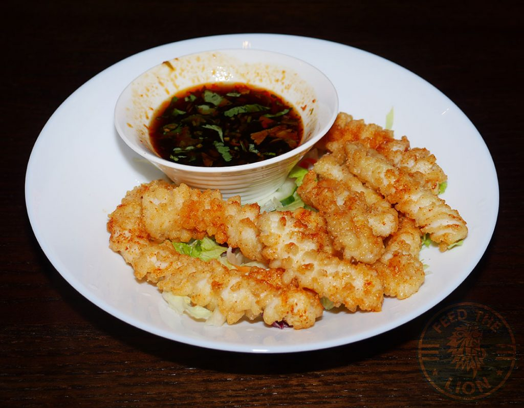 Squid Tamashii Halal Japanese restaurant Kings Cross