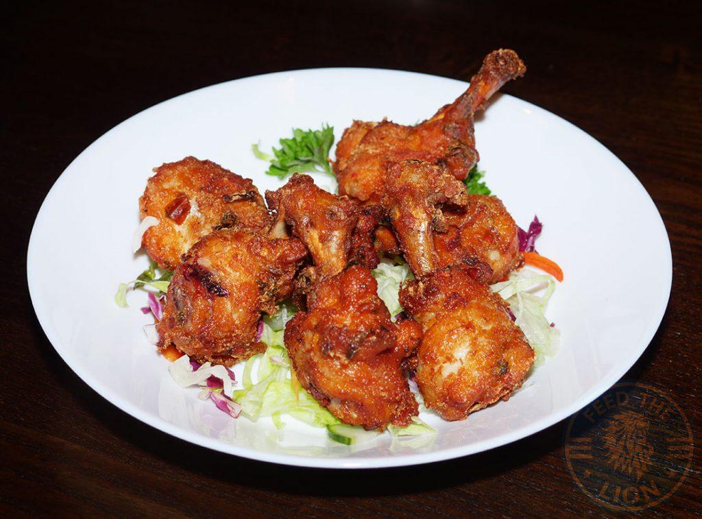Chicken Wings Tamashii Halal Japanese restaurant Kings Cross