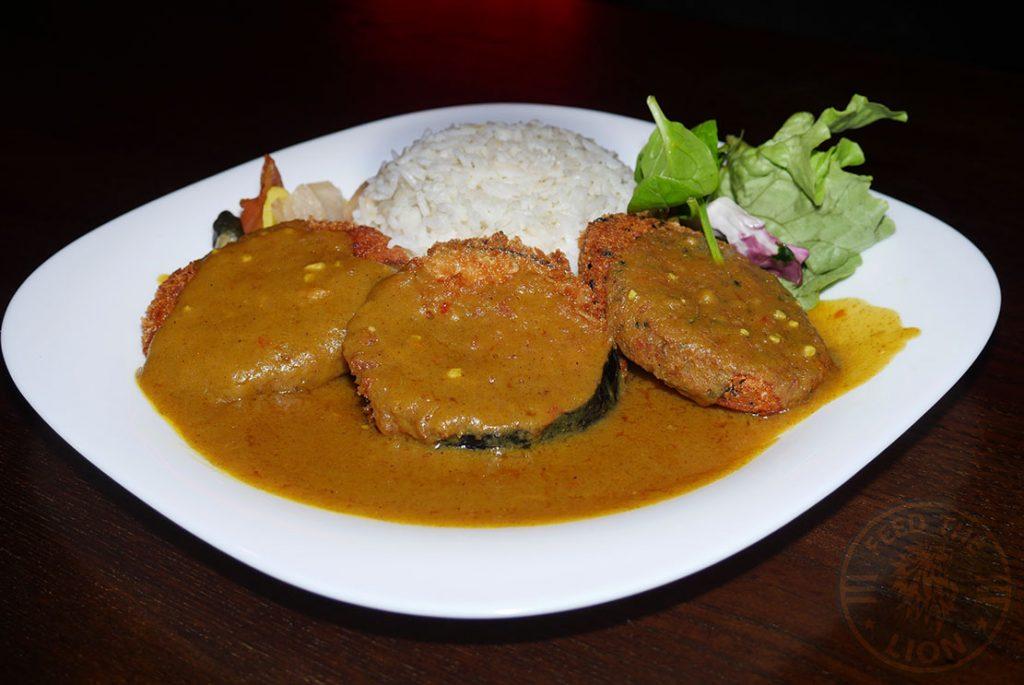 Katsu Curry Vegetarian Tamashii Halal Japanese restaurant Kings Cross