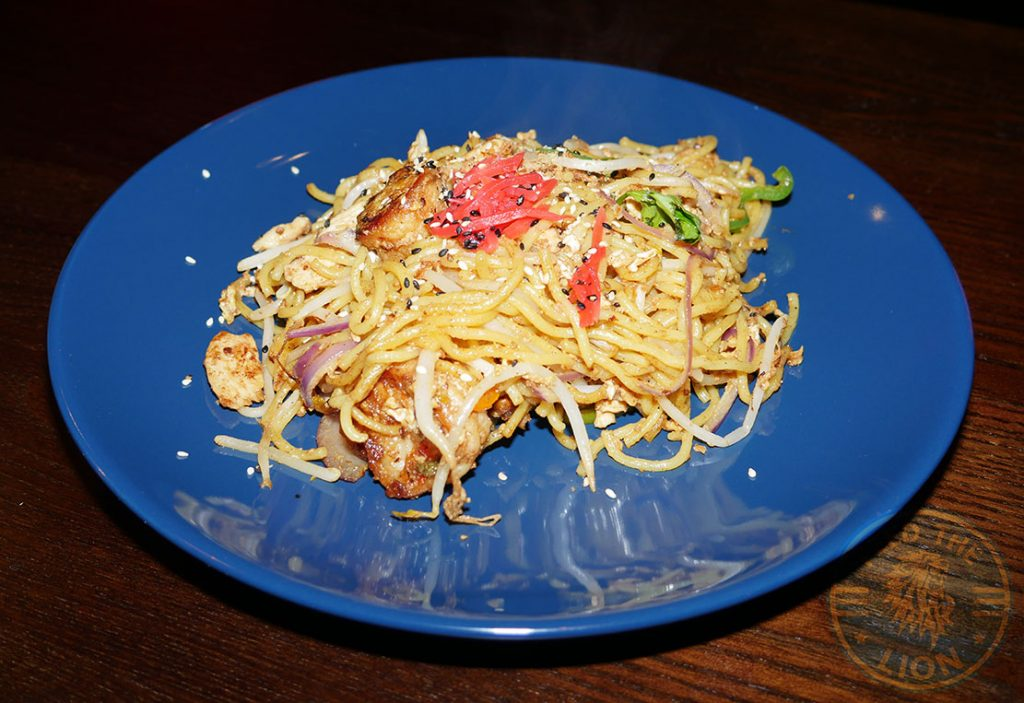 Yaki Udon Tamashii Halal Japanese restaurant Kings Cross