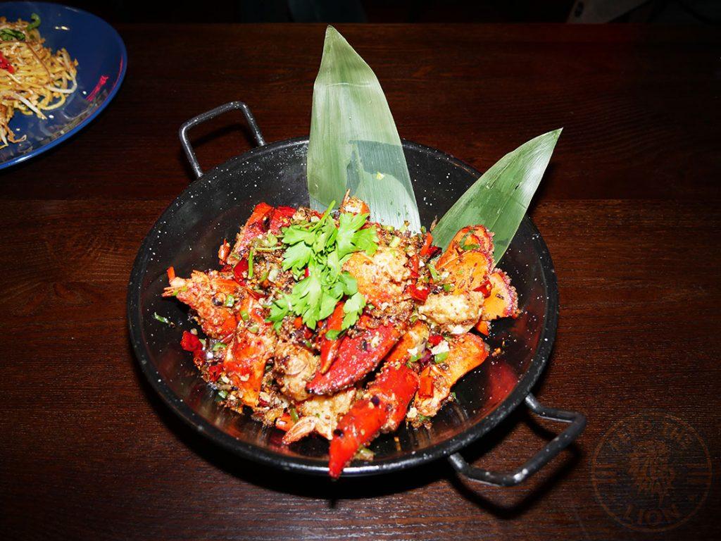 Lobster Tamashii Halal Japanese restaurant Kings Cross