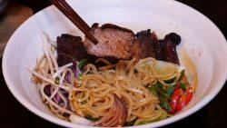 beef ramen Tamashii Halal Japanese restaurant Kings Cross