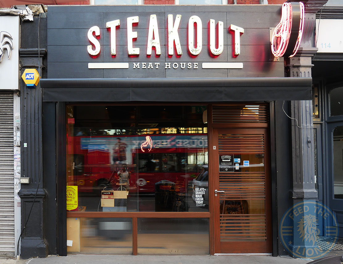 Steakout Tooting Broadway Halal Restaurants Feed The Lion